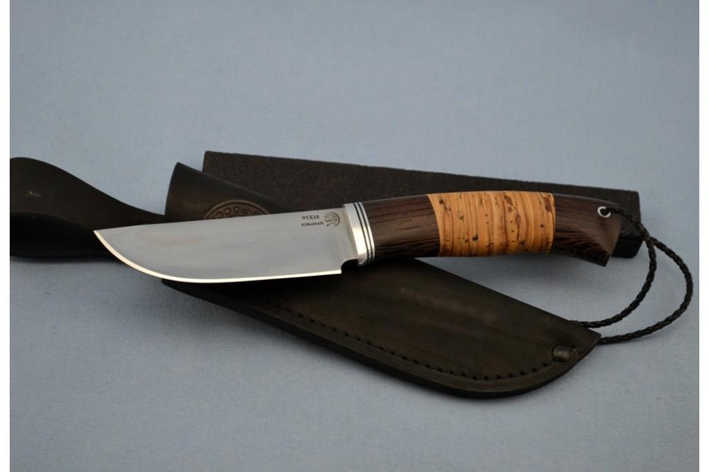 "Нож ""Бобр"" (95Х18, венге, береста)"