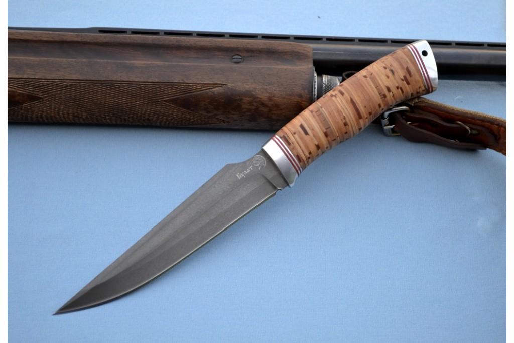 "Нож ""Гепард"" (Булат, дюраль, береста)"