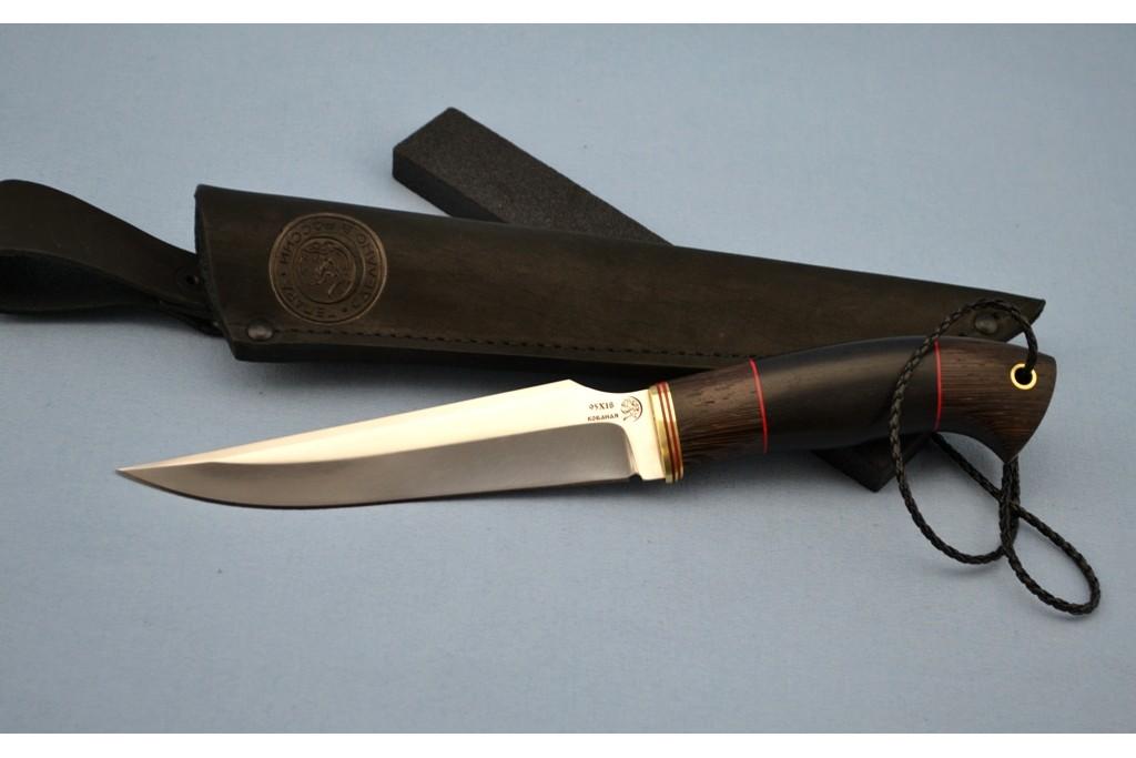 "Нож ""Гепард"" (95Х18, венге, мореный граб)"
