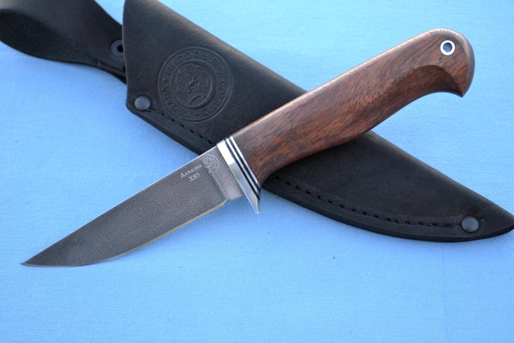"Нож ""Грибник"" (ХВ5, бубинга)"