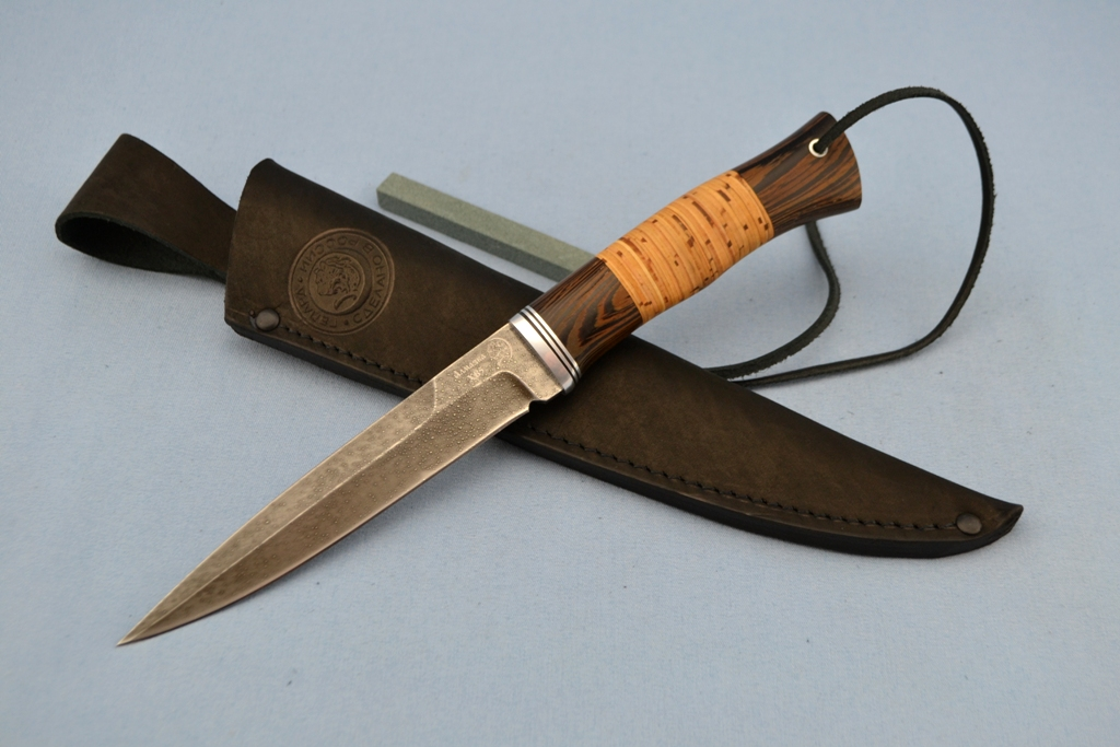 """Нож """"Хищник"""" (ХВ5, венге, береста)"""